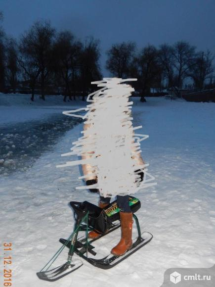 Снегоход детский высокий. Фото 1.