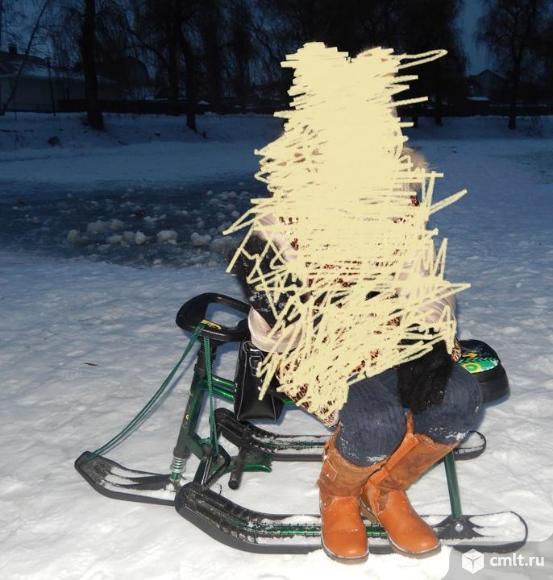 Снегоход детский высокий