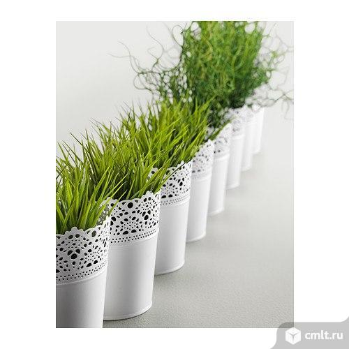 Фейка Искусственное растение в горшке - трава
