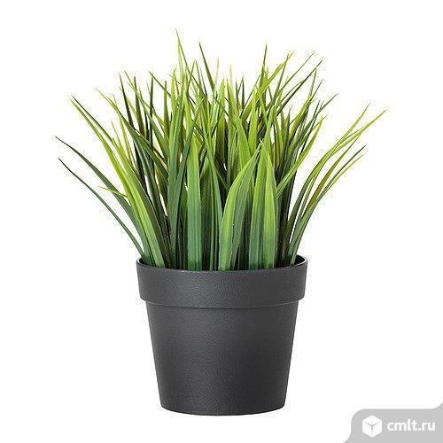 Фейка Искусственное растение в горшкеВысота: 20 смДиаметр цветочного горшка: 10.5 см