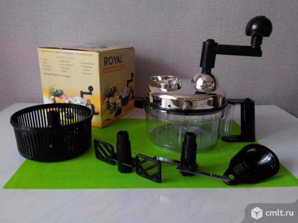 Кухонный ручной (механический) комбайн Royal новый