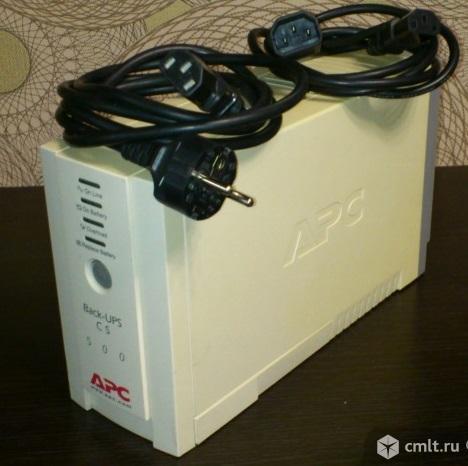 Источник бесперебойного питания APC Back-UPS CS 500 б/у
