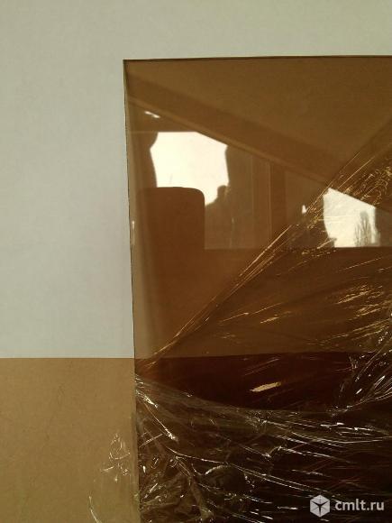 Стекло листовое, толщина 4 мм, 530х1523 мм, тонированное