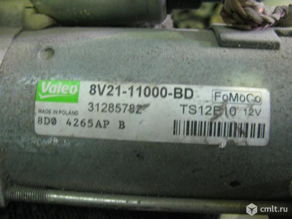 стартер Форд Фокус 2.Стартер оригинальный, Ford, производство Valeo, 1.1 Киловатт, 12 Вольт, 10 зубов, редукторный, в идеальном сос