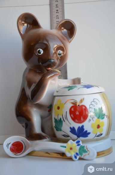 Статуэтка шкатулка Лакомка Медведь Сказка