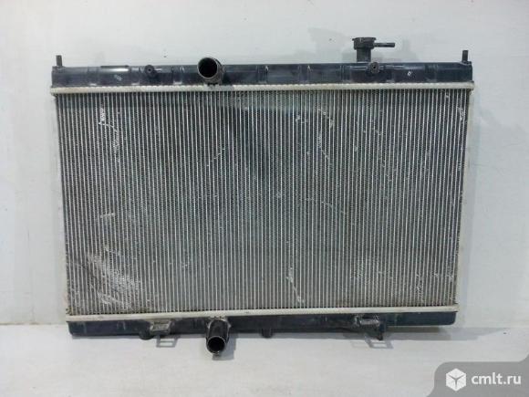 Радиатор охлаждения NISSAN X-TRAIL T32 14- б/у 214104CM0B 3*. Фото 1.