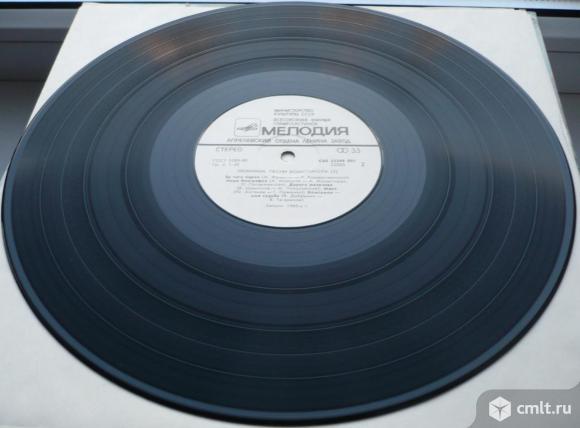 """Грампластинка (винил). Гигант [12"""" LP]. Эти песни запевает молодежь. Любимые песни комсомола. 1985.. Фото 8."""