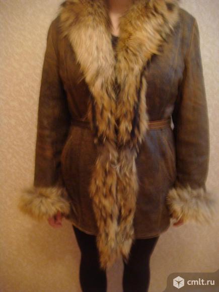 Куртка кожаная  осень-зима. Фото 7.