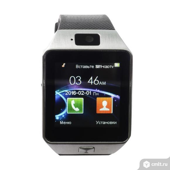 Умные часы Smart Watch DZ09 новые. Фото 1.