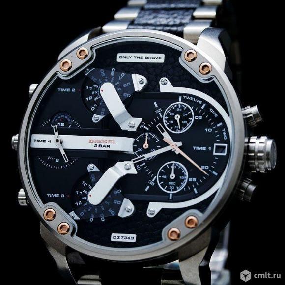 Мужские часы diesel only THE brave новые. Фото 1.
