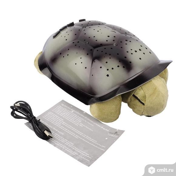 """Музыкальный ночник - проектор """"черепаха"""" новые беспл. дост.. Фото 2."""