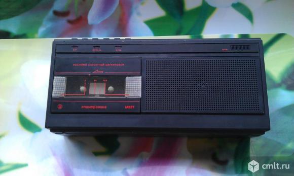 Магнитофон Электроника М 327. Фото 1.