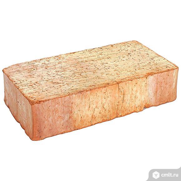 Кирпич рядовой керамический Энгельсский, красный, 1,0НФ, М150, (360шт, упаковка). Фото 1.