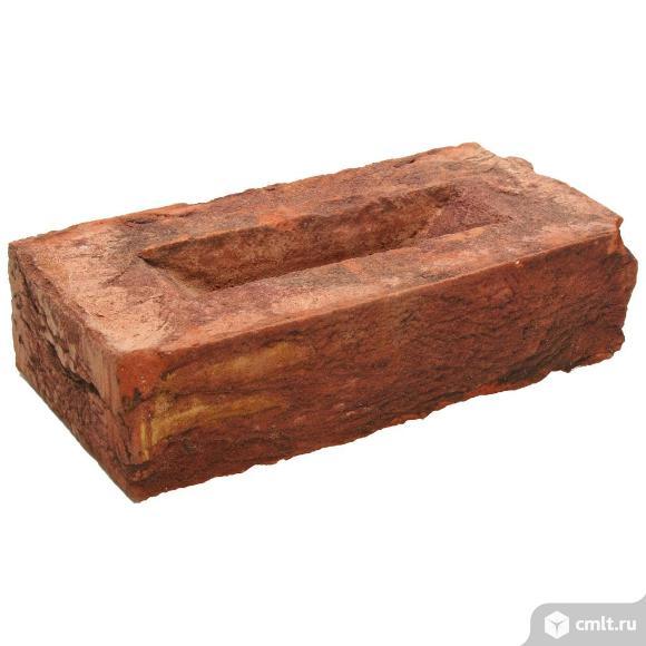 Кирпич лицевой керамический Екатеринославский, осенний лист, 1,0НФ, М150, (336шт, упаковка). Фото 1.