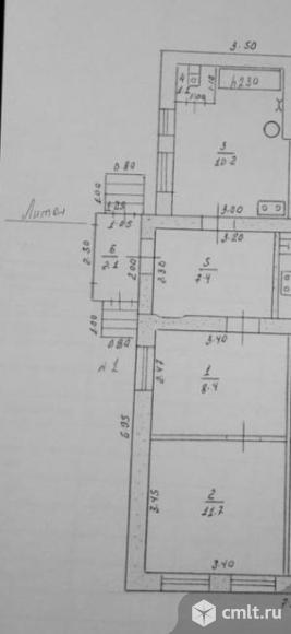 Часть дома 41,1 кв.м