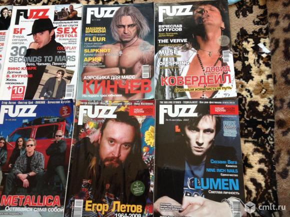 Журналы Fuzz 10 номеров. Фото 4.