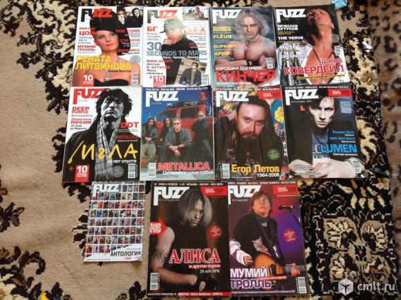 Журналы Fuzz 10 номеров. Фото 1.