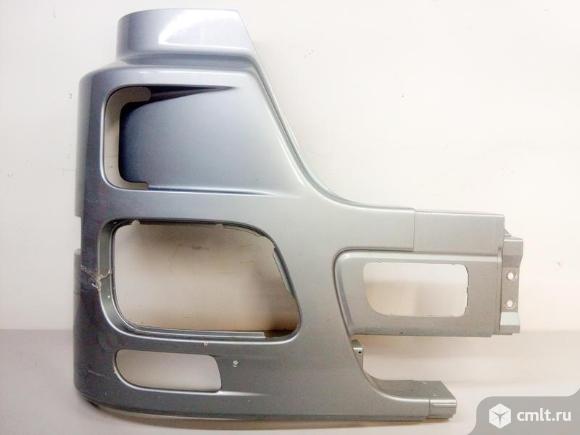 Бампера передний клык правая часть MERCES BENZ ACTROS MP3 08- б/у A9438804972 3*. Фото 1.