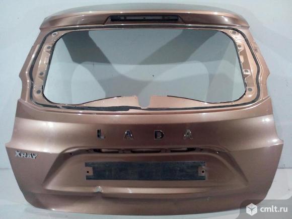 Крышка багажника LADA XRAY 15- б/у 901001870R 3*. Фото 1.