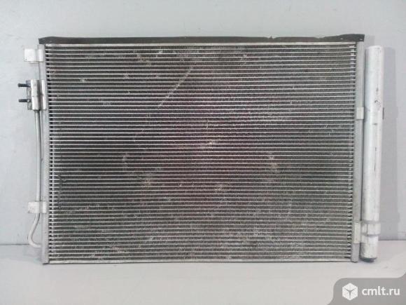 Радиатор кондиционера HYUNDAI SOLARIS 17- б/у  97606H5000 3*. Фото 1.