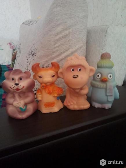 Резиновые игрушки СССР. Фото 4.