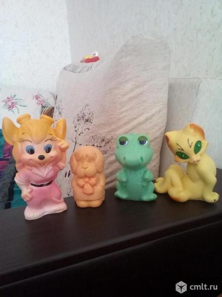 Резиновые игрушки СССР. Фото 1.