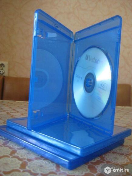 Коробки (боксы) CD, DVD. Фото 1.