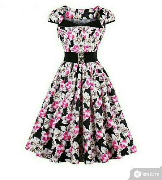 Новое платье размер 4XL (54-56). Фото 1.