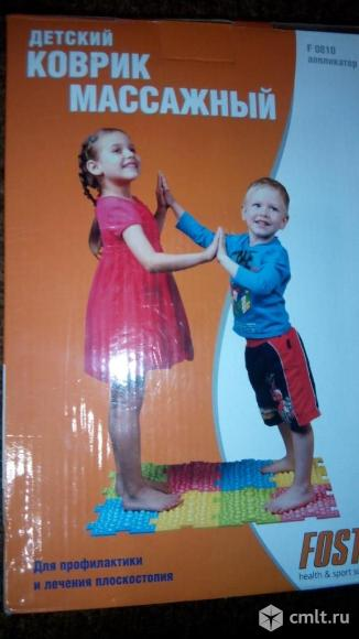 Массажный детский коврик-пазл (аппликатор)-FOSTA. Фото 1.