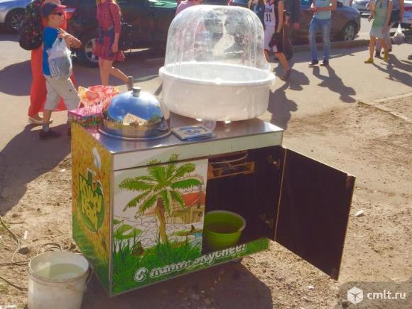 Аппарат сладкой ваты и горячей кукурузы