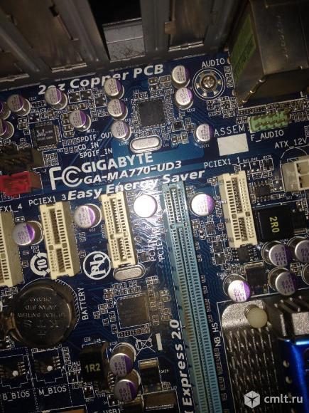 Системная плата: Gigabyte+ Процессор: Quad Core AMD Phenom  955 3215 MHz. Фото 1.
