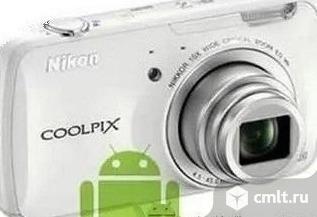 Новый Wi-Fi, GPS, Фотоаппарат Nicon Coolpix S810. Фото 1.