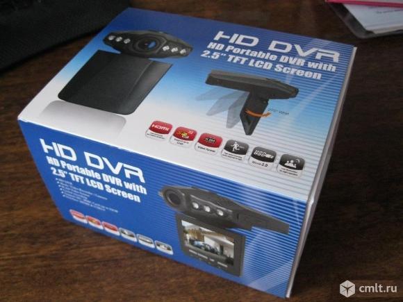 Видеорегистратор автомобильный HD DVR-027. Фото 1.