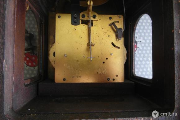Голландские настенные часы Hermle с гирями. Фото 5.