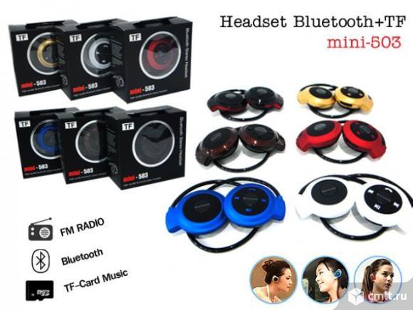 Beats mini 503 TF-беспроводные Bluetooth наушники новые. Фото 1.