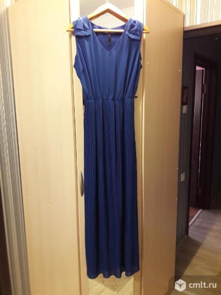 Продается платье новое шелк - шефон. Фото 1.