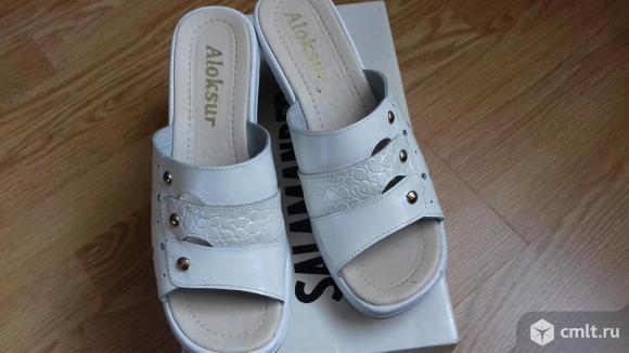 Продаю новые кожаные туфли (сабо). Фото 7.