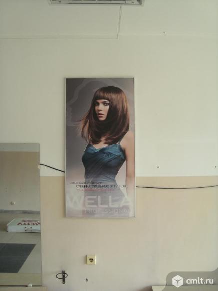 Плакат в  алюминиевой раме фирмы WELLA. Фото 1.