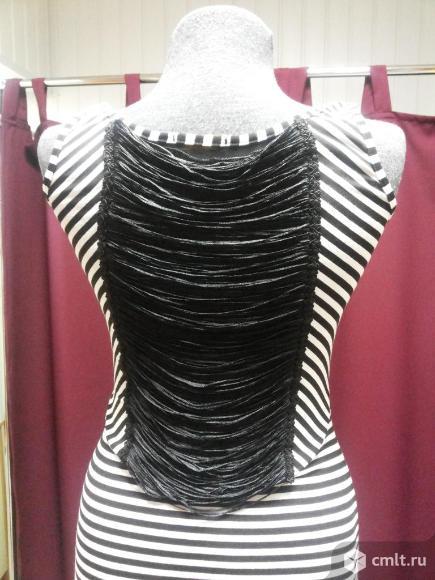 Платье в морском стиле. Фото 1.