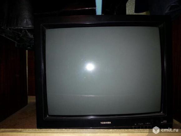 Телевизор кинескопный цв. Toshiba 218D7S