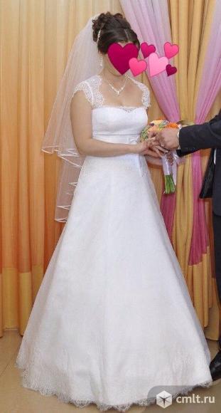 Свадебное платье. Фата+кринолин в подарок!. Фото 6.