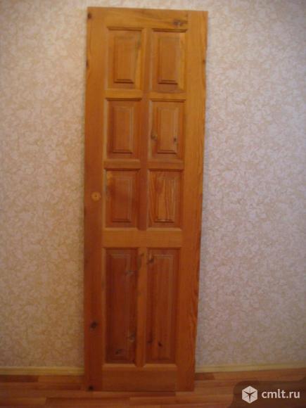 Дверь межкомнатная 60Х200 (сосна ). Фото 1.
