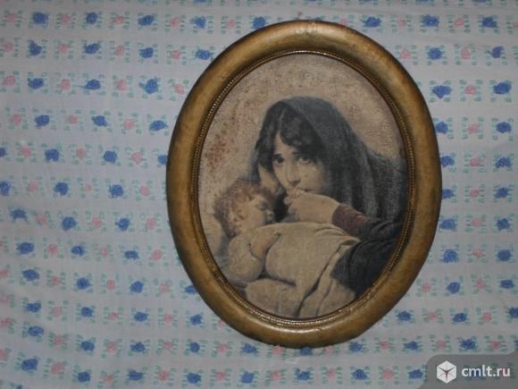 Продам старинную картину. Фото 1.