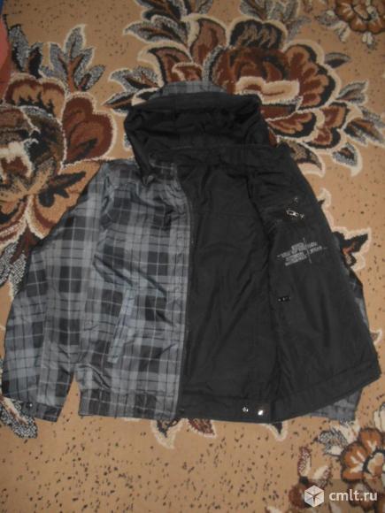 Куртка двухсторонняя осенняя