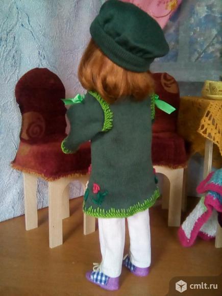 Кукла новая шарнирная . рост 36 см.