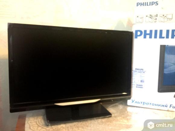 """Philips 22""""(56см) Full HD LED, DVB-T2, новый. Фото 1."""