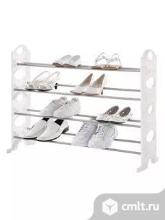 Стойка Для Обуви Stackable Shoe Rack новые. Фото 2.