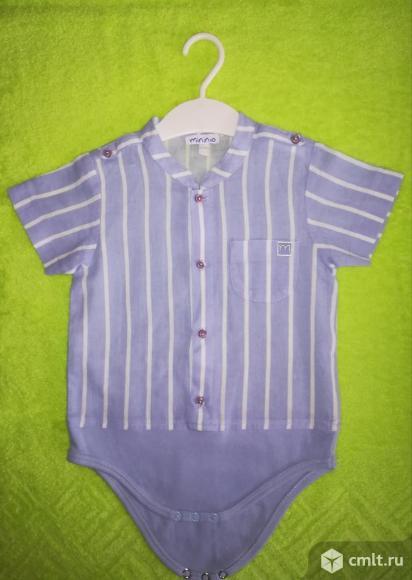 Рубашка-боди новая. Фото 1.