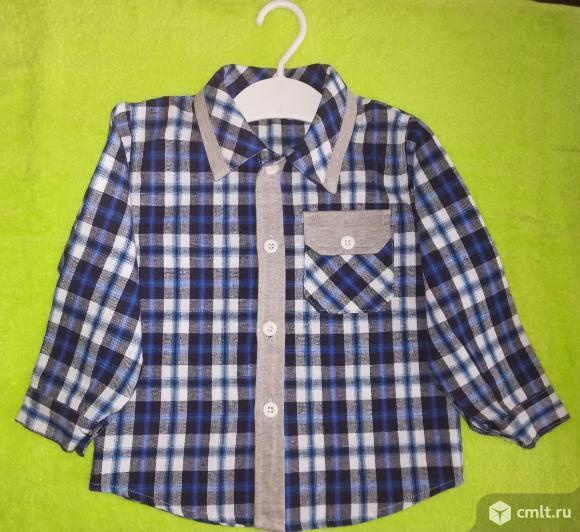 Рубашка для мальчика новая. Фото 1.