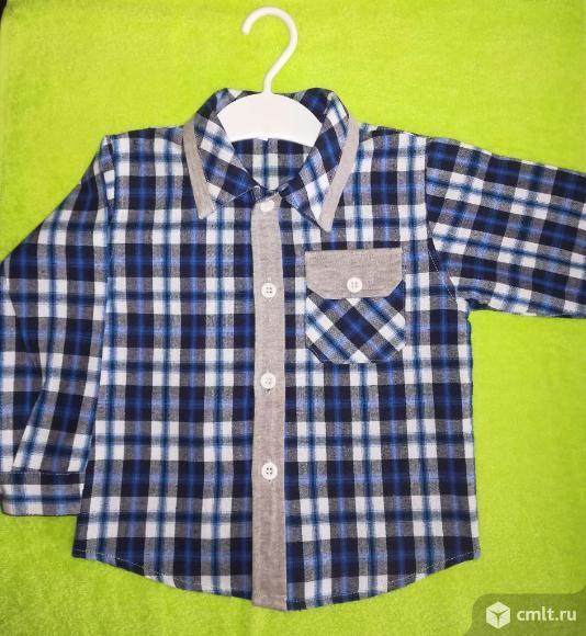 Рубашка для мальчика новая. Фото 2.